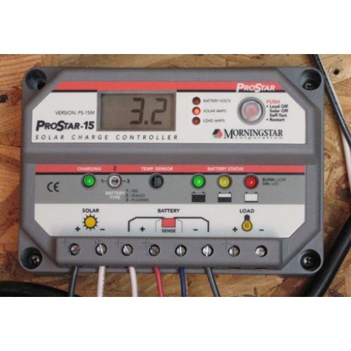 Morningstar Solar Charge Controller ProStar-15