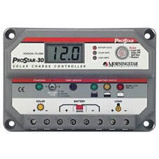 MORNINGSTAR PROSTAR PS-30M 30A PWM CHARGE CONTROLLER DISPLAY