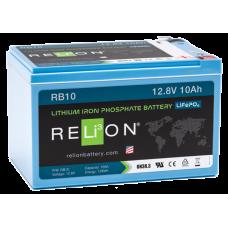 RELiON RB10 LIFEPO4 LITHIUM 12V BATTERY
