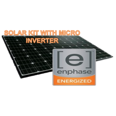 10KW SOLAR KIT WITH MICRO INVERTER